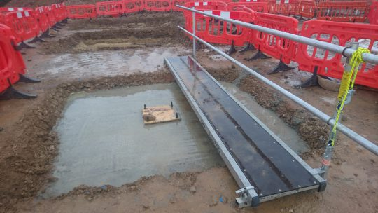 Romo HQ Construction 2 Groundworks