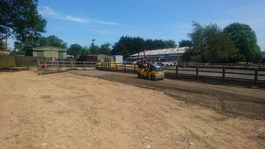 Welwyn Equestrian Centre Construction