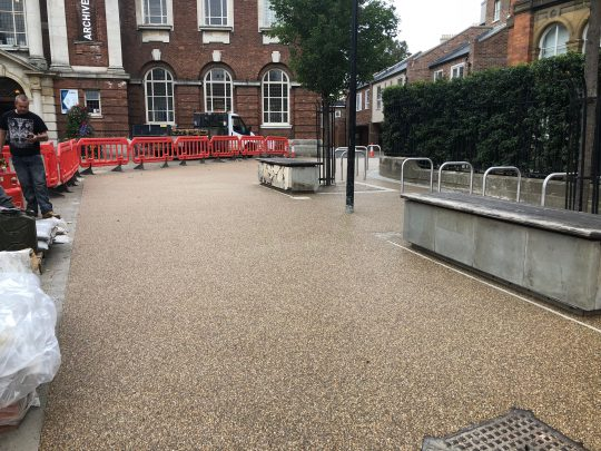 Resin Bound Gravel After York Library