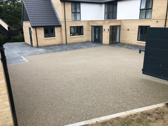 Resin Bond Gravel Driveway Residential