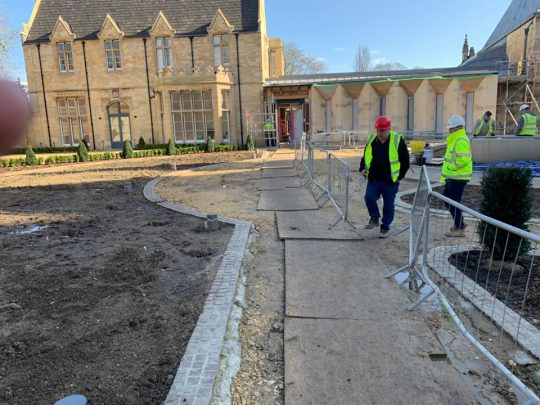 Groundworks Lincoln Cathedral
