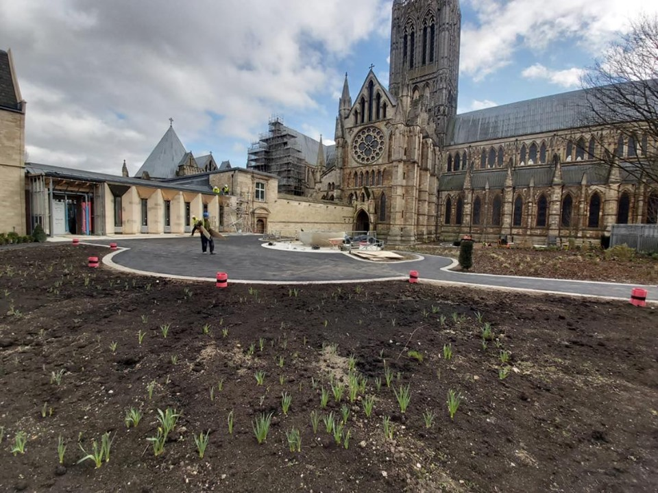 Tarmac Lincoln Cathedral